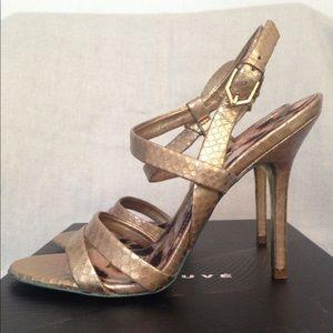 Sam Edelman gold sandals size 8.5